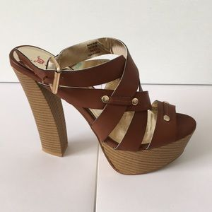 eb4ea0ec32db JustFab Shoes - ❤ Hollis Heel